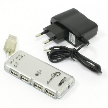 USB Хаб 4xUSB 2.0 GEMBIRD UHB-C244