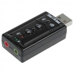 Аудиоплата USB Cmedia CM108 TRAA71 2-ch,USB (849415)