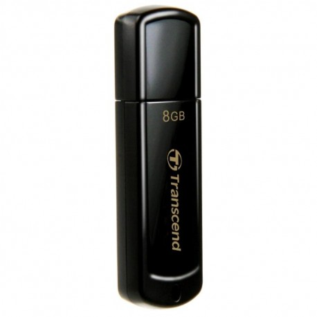 Флешка Transcend 350 Черный 8Gb (USB2.0)