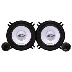 Колонки автомобильные 13см Alpine SXE-1350S 250Вт, 60-20000Гц, 90дБ, компонентная АС