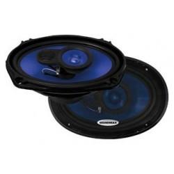 Колонки автомобильные 15x23см Soundmax SM-CSE693 110/220Вт, 45-0000Гц, 4Ом, 92дБ, коаксиальная АС