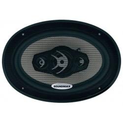 Колонки автомобильные 15x23см Soundmax SM-CSA694 120/240Вт, 30-22000Гц, 4Ом, 92дБ, коаксиальная АС