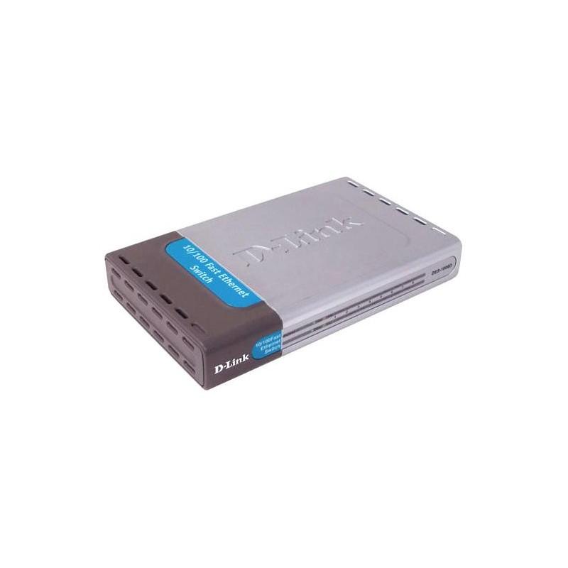 Коммутатор D-Link DES-1008D 8-port 10100 Mbps