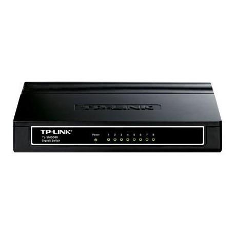 Коммутатор TP-Link TL-SG1008D (8-port 10/100/1000 Mbps)
