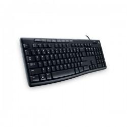 Клавиатура USB Logitech K200 (920-002746/920-008814) мембранная, 112 клавишь, Black