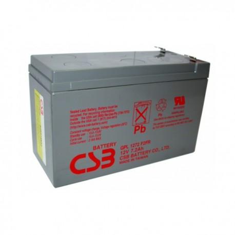 Аккумулятор CSB GPL1272 12V,7Ah,F2,FR,увеличенный срок службы (в94+6/д151/ш65)