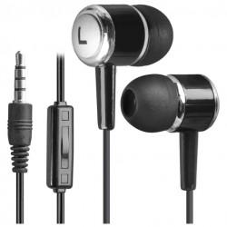 Гарнитура Defender Pulse 427 вставные, 32Ом, 105дБ, кабель 1.2м, Black