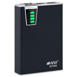 Аккумулятор внешний 10000 mAh HIPER MP10000 черный 2.1A+1A