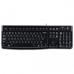 Клавиатура USB Logitech K120 (920-002522) gray box, мембранная, 104 клавиши, Black