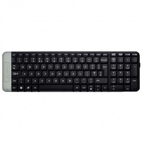 Клавиатура беспроводная Logitech K230 (920-003348) мембранная, 101 клавиша, до 10м, Black
