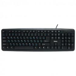 Клавиатура PS/2 Dialog KS-020P Standart мембранная, 104 клавиши, Black
