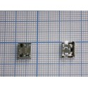 Системный разъём №064 micro-USB Samsung S6810,C3592,E1272,E2202,S3332,S3802,S5280,S5282,S7390,S7710