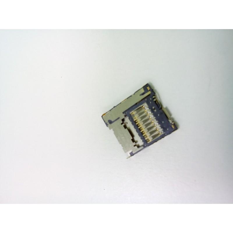 Коннектор MMC Samsung i8160/S7562/i8750/i9260/i9295/S6790/S6810/S7270/S7272/T210/T211/C101