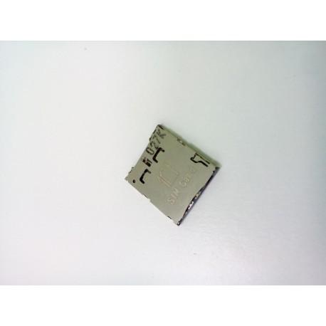 Коннектор SIM Samsung C101/S4 Zoom/OT-6010D/OT-6030D/OT-6033X