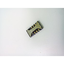 Коннектор SIM Samsung i8160/i8190/E2232/i8350/S5260/S5302/S5660/S7250/S7270/S7272/S7500