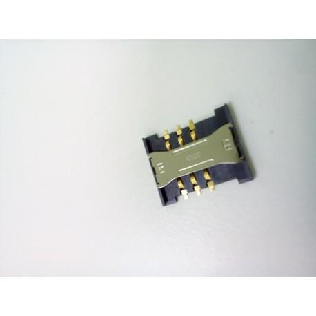 Коннектор SIM Samsung i9082/C3222/E1195