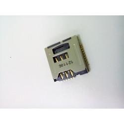 Коннектор SIM+MMC Samsung S5230/C3010...