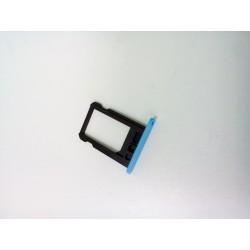 Контейнер SIM iPhone 5C синий