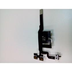 Шлейф iPhone 4S на разъем гарнитуры Черный