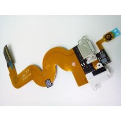 Шлейф iPod 5 разъем гарнитуры/зарядки Белый