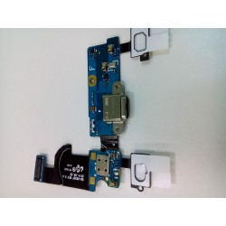 Шлейф Samsung G800/S5 mini плата системный разъем/микрофон/HOME