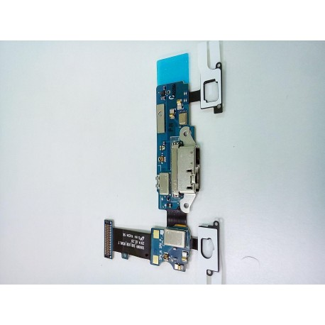 Шлейф Samsung G900/S5 плата системный разъем/сенсор/микрофон