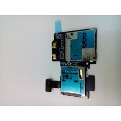 Шлейф Samsung i9500/i9505 на разъем SIM/MMC