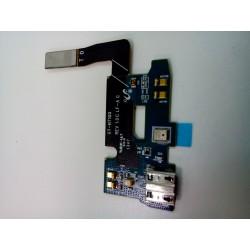 Шлейф Samsung N7100 на системный разъем/микрофон