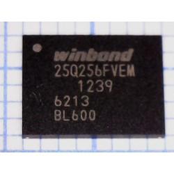 Микросхема памяти W25Q256FVEM WSON-8 (8x6мм)