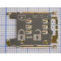 Коннектор SIM Nokia 200/201/302