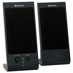 Актив.колонки 2.0 Defender SPK-170 4Вт, питание от USB, пластик, Black