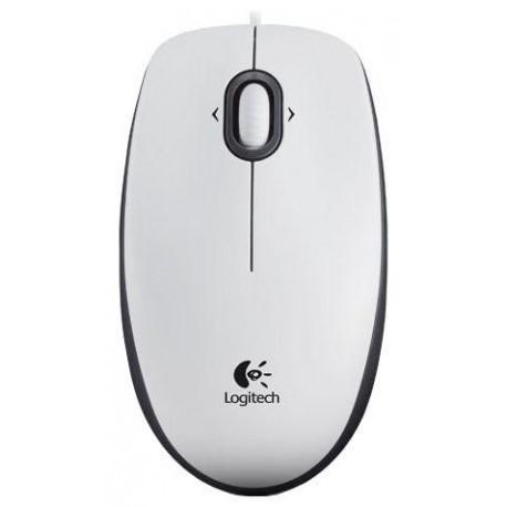 Мышь USB Logitech M100 (910-001605/910-005004) оптическая, 1000dpi, кабель 1.8м, White