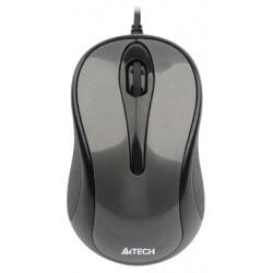 Мышь USB A4Tech N-360-1 оптическая V-Track, 1000dpi, кабель 1.4м, Grey