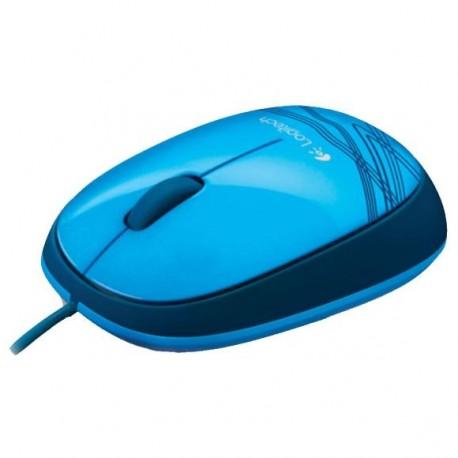 Мышь USB Logitech M105 (910-003119/910-003114) оптическая, 1000dpi, кабель 1.3м, Blue