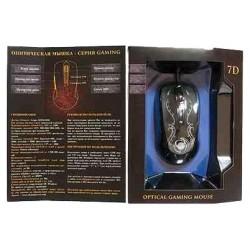 Игровая мышь USB Dialog Gan-Kata MGK-47U оптическая, 3200dpi, кабель 1.5м, Black