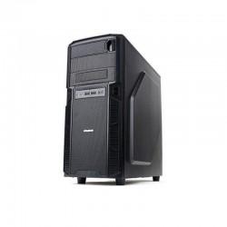 Корпус ATX Zalman Z1 (3USB,Audio,Black,необходим БП с длинными кабелями)