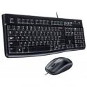 Комплект (клавиатура+мышь) USB Logitech MK120 920-002561