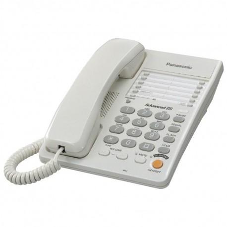 Телефон Panasonic KX-TS2363RUW повторн.набор/тон.набор/настен.установка/память-10н/быстр.набор-20кн