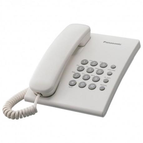 Телефон Panasonic KX-TS2350 RUW (повторн.набор/тон.набор/настен.установка)