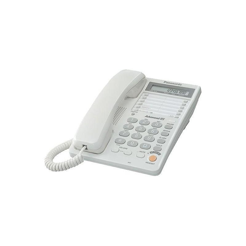 Телефон Panasonic KX-TS2365 RUW повторн.набор/тон.набор/настен.установка/память-30н/быстр.набор-20кн