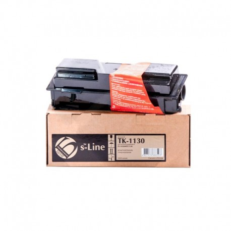 Картридж лазерный БУЛАТ s-Line TK-1130 для Kyocera FS-1030MFP/1130MFP Black (3000 стр) + чип