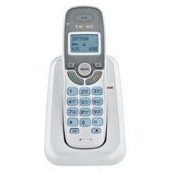 Радиотелефон Texet TX-D6905А белый 1трубка/50м/300м/АОН/книга 30номеров/10-100 ч/550 мАч