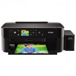 Принтер Epson L810 (A4 струйный 5760x1440dpi,37стр/м,USB2.0,СНПЧ в комплекте,печать на CD/DVD)