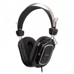 Гарнитура A4Tech HS-200 мониторные, 32Ом, 97дБ, кабель 2м, Black