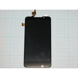 Дисплейный модуль HTC Desire 516 Dual в сборе с тачскрином чёрный
