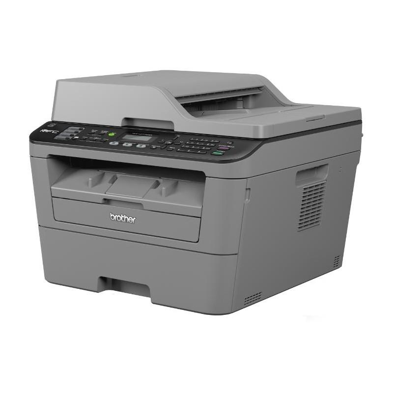 МФУ Brother MFC-L2700DWR А4 лазерный принтер/копир/пл.сканер/факс,2400*600,26стр/мин,32Мб,Lan,Wi-Fi,