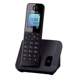 Радиотелефон Panasonic KX-TGH210 RUB,черный 1трубка/50м/300м/АОН/книга 50номеров/спикерфон/-/-/14-250ч/Радио-няня
