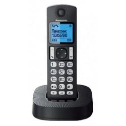 Радиотелефон Panasonic KX-TGC310 RU1,черный 1трубка/АОН/книга 50номеров/спикерфон/16-200ч/Радио-няня