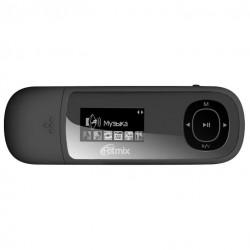 "MP3 плеер RITMIX RF-3450 4Gb Черный (1"",FM,диктофон,MP3,WMA,WAV,MicroSDHC до 16Gb,до 10ч,клипса)"