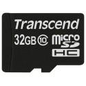 Карта памяти MicroSDHC 32Gb Transcend Class10 без адаптера UHS-I TS32GUSDC10